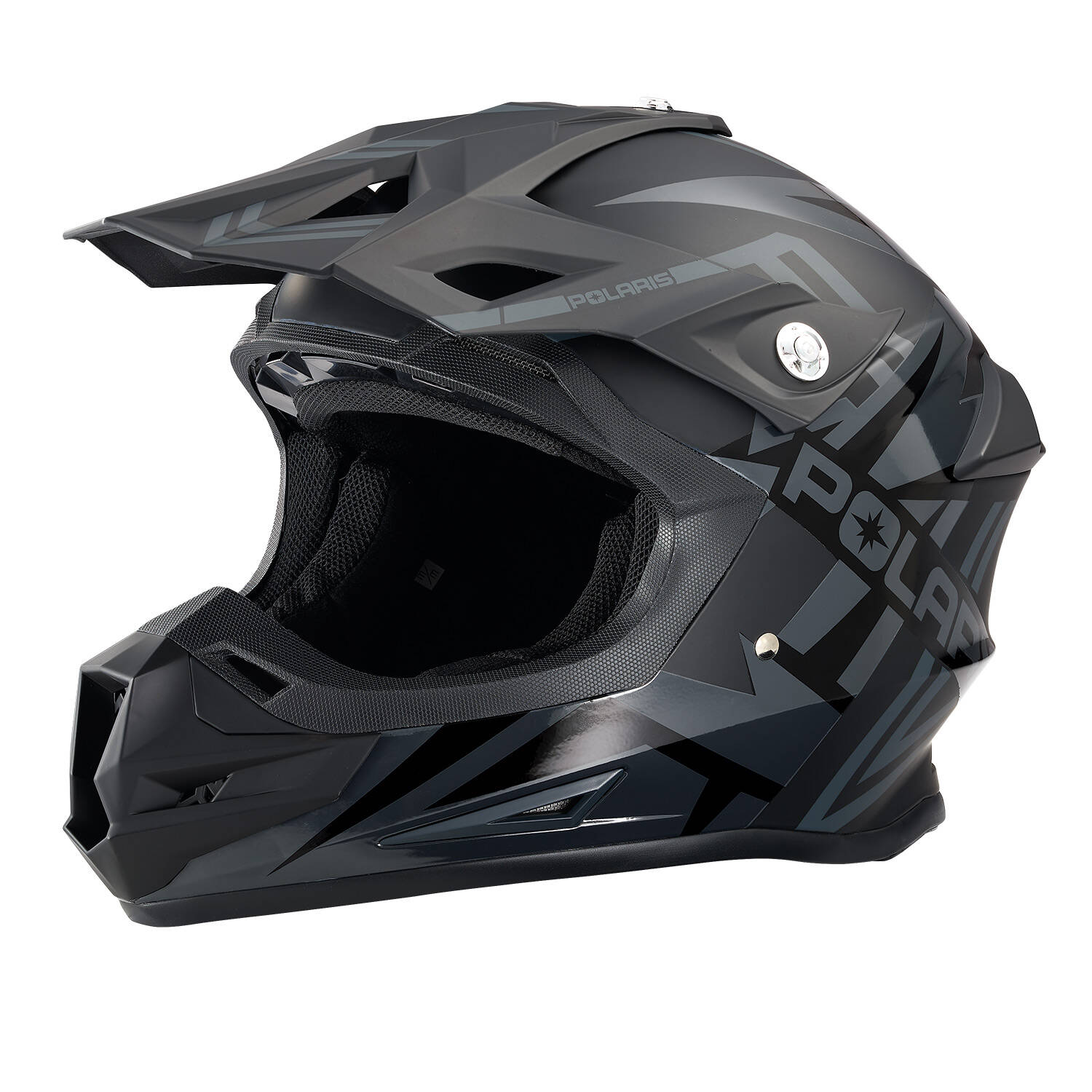 Force Adult Moto Helmet with Removable Mouthpiece, Black Matte