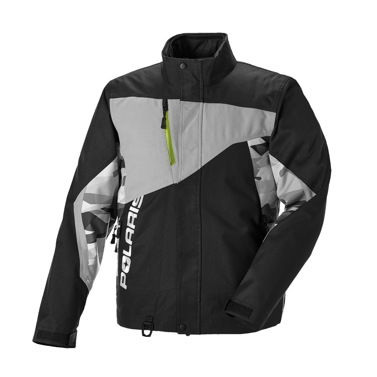 Men's Throttle Jacket with Zonal 3M® Insulation, Black/Lime