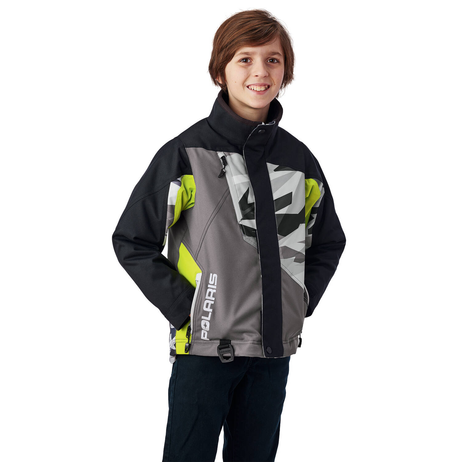 Youth Ripper Jacket with Zonal 3M® Insulation, Lime Print