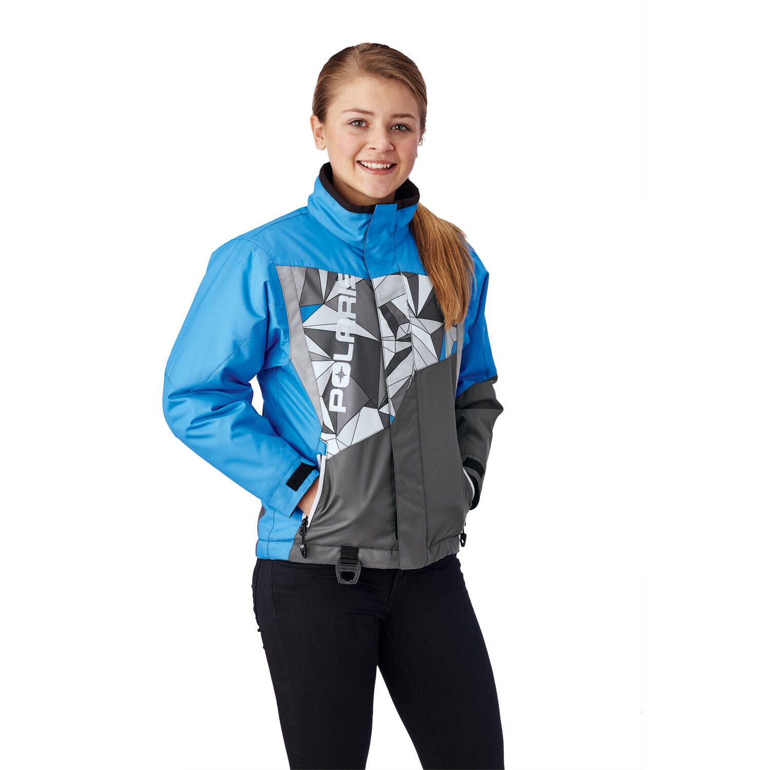 Youth Diva Jacket with Zonal 3M® Insulation, Marina Blue