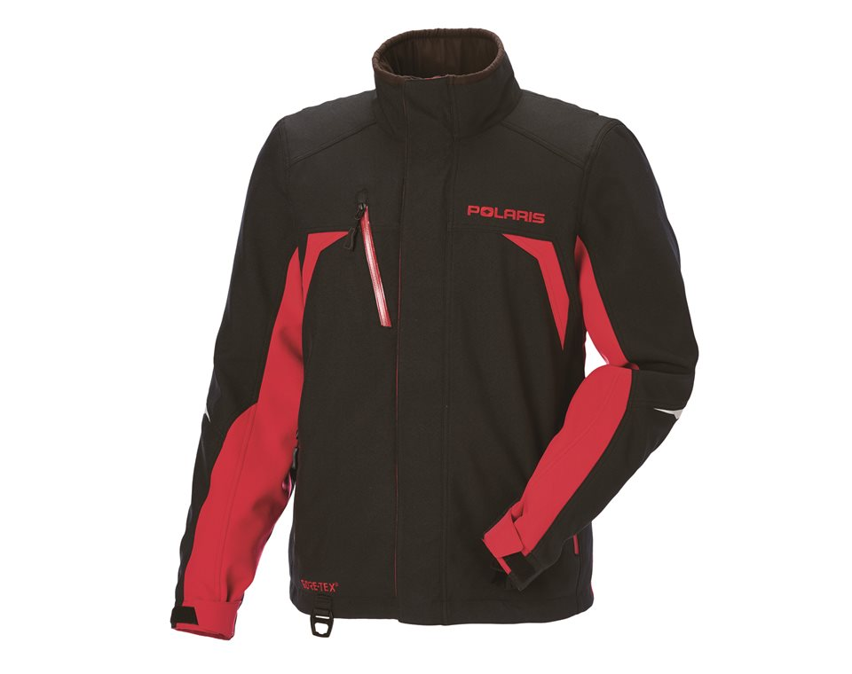 Men's Pro Jacket with GORE-TEX® Membrane, Black/Red