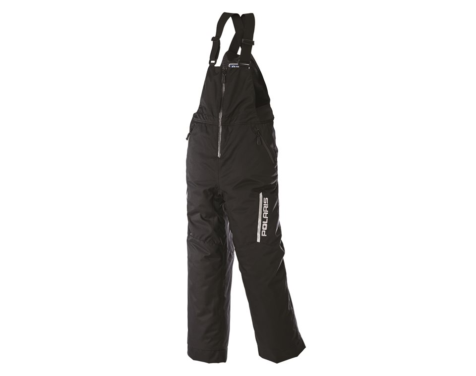 Youth Ripper Bib Snow Pants with Zonal 3M® Insulation, Black