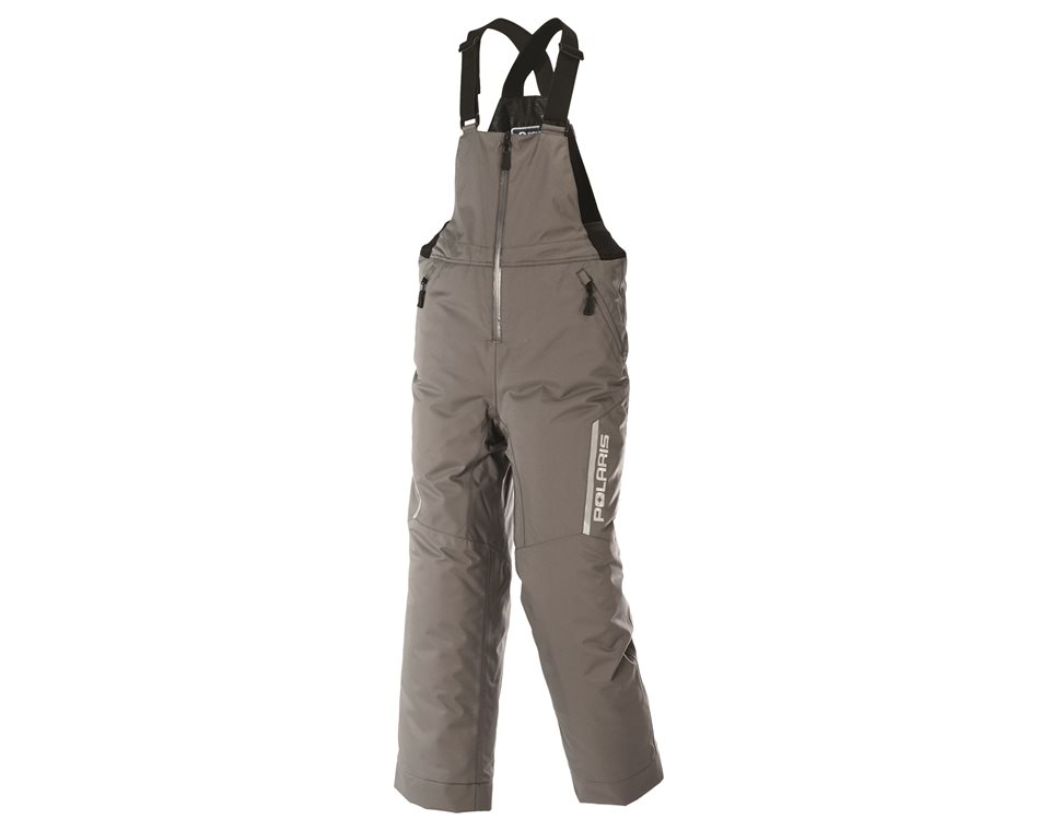 Youth Ripper Bib Snow Pants with Zonal 3M® Insulation, Gray