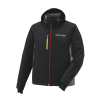 Men's Softshell Jacket with Lime Polaris® Logo, Black - Image 1 de 2