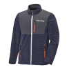 Men's Full-Zip Mid Layer Jacket with Polaris® Logo, Navy - Image 1 of 3