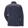 Men's Full-Zip Mid Layer Jacket with Polaris® Logo, Navy - Image 2 of 3