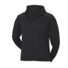 Men's Full-Zip Core Hoodie Sweatshirt with Polaris® Logo, Black/Lime - Image 2 de 4