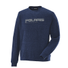 Men's Crew Sweatshirt with Polaris® Logo, Navy - Image 1 de 1