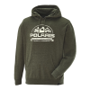 Men's Roseau Hoodie Sweatshirt with Polaris® Logo, Olive Heather - Image 2 de 3