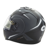 Modular 2.0 Adult Helmet with Electric Shield, Black - Image 8 of 9
