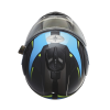 Modular 2.0 Adult Helmet with Electric Shield, Blue/Lime - Image 7 of 8