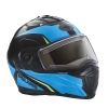 Modular 2.0 Adult Helmet with Electric Shield, Blue/Lime - Image 3 of 8