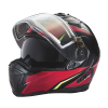 Modular 2.0 Adult Helmet with Electric Shield, Red/Lime - Image 8 of 8