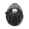 Modular 2.0 Adult Helmet with Electric Shield, Black/Lime - Image 4 of 8