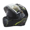 Modular 2.0 Adult Helmet with Electric Shield, Black/Lime - Image 7 of 8