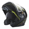 Modular 2.0 Adult Helmet with Electric Shield, Black/Lime - Image 2 of 8