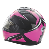 Modular 2.0 Adult Helmet with Electric Shield, Black/Pink - Image 6 of 9