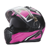 Modular 2.0 Adult Helmet with Electric Shield, Black/Pink - Image 4 of 9