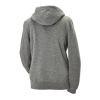 Women's Retro Hoodie Sweatshirt with Polaris® Logo, Gray - Image 2 de 3