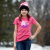 Youth Scenic Graphic T-Shirt with Polaris® Logo, Berry - Image 2 of 2