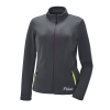 Women's Full-Zip Mid Layer Jacket with White Polaris® Logo, Gray - Image 1 de 3