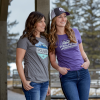 Women's Roseau Graphic T-Shirt with Polaris® Logo, Purple Frost - Image 3 of 3